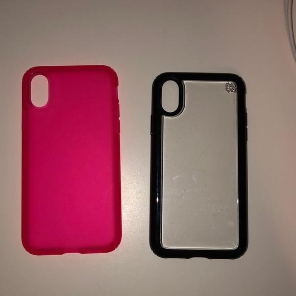 iphone xs black rim case